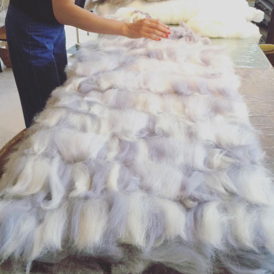 羊毛フェルト教室 テイネイフェルトについて
