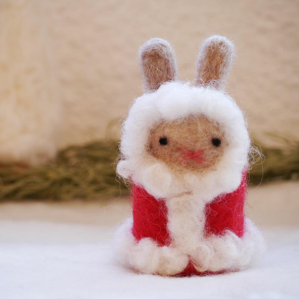 【新商品】羊毛フェルトキット・Xmasシリーズ発売のお知らせ