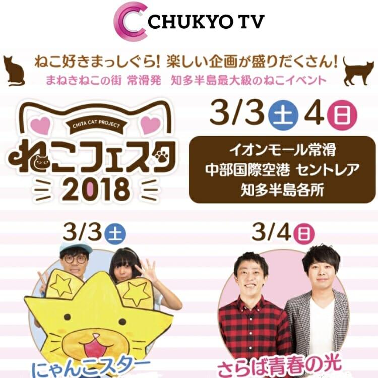 中京テレビ「ねこフェスタ2018」 TeyneyFelt期間限定出店 のお知らせ