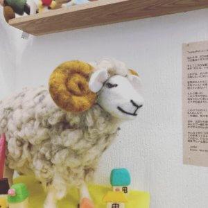 「羊毛フェルト作品展vol.15」開催中です