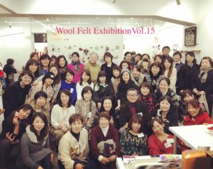『羊毛フェルト作品展Vol.15』ありがとうございました♡