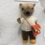 羊毛フェルト作品展での「イノシシ」作品のご紹介(1)