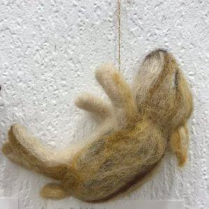 羊毛フェルト作品展での「イノシシ」作品のご紹介(3)
