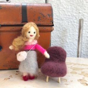 羊毛フェルトの「人形コース」作品レポート