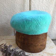 羊毛フェルトの「帽子」作品レポート