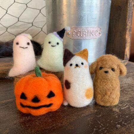 10月 東急・東横店 羊毛フェルト体験レッスン&POP UP SHOP!