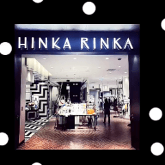 9月 POP UP SHOP!東急プラザ銀座 HINKA RINKA