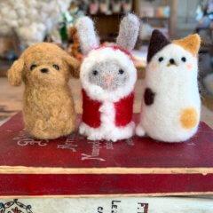 11月 町田東急ツインズ 羊毛フェルト体験レッスン&POP UP SHOP!