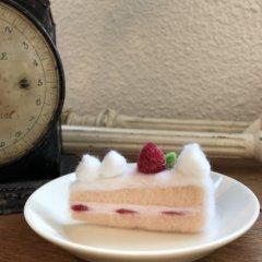 羊毛フェルトの「オリジナルケーキ」作品レポート