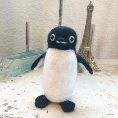 羊毛フェルトの「ペンギンキャラクター」作品レッスンレポート