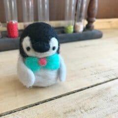 羊毛フェルトの「ペンギン」作品レポート